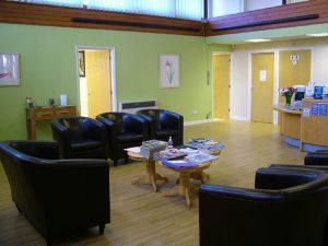 Crowthorne Smile Dental Practice Reception area