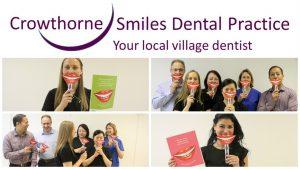 Celebrating National Smile month at Crowthorne Smiles Dental Practice
